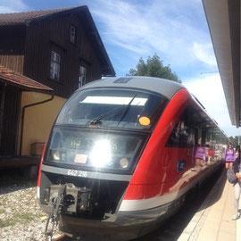 いろんな種類の電車