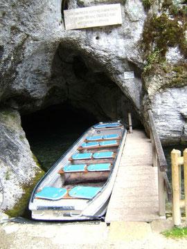 Eingang Wimsener Höhle