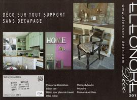 1ère page du catalogue Eléonore Déco 2013