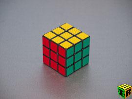 Cubo de Rubik. Imagen propia.