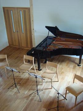 スタジオ内の配置例