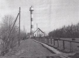 """Leuchtturm """"Schlanke Anna"""" um 1950"""