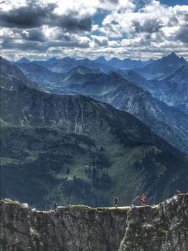 Grenzgänger Wandern Trailrunning
