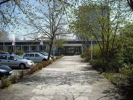 Hochschule Rhein-Main, Standort Rüsselsheim, Haupteingang
