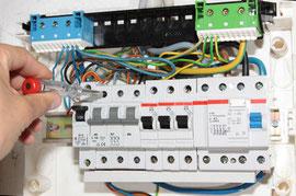 Sicherungsautomaten und FI-Schalter