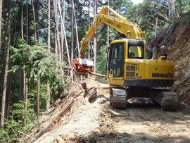 高性能林業機械群