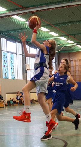 Lorelei Sy erzielte zwölf Punkte. (Foto: Fromme)