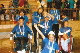 障害者施設のスポーツ大会