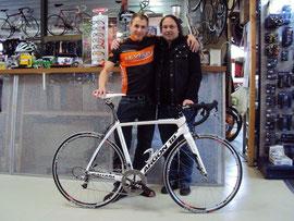Auch in dieser Saison steht mir mit Leveco Cycling ein starker Partner zur Vefügung