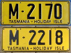 australisches Nummernschild TAS