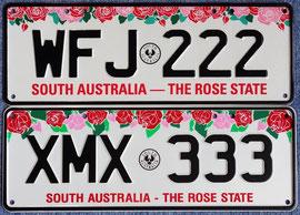 Kennzeichen aus Australien SA