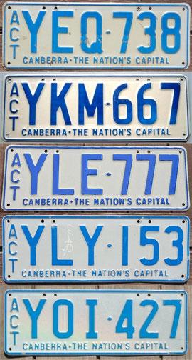 australisches Kennzeichen ACT