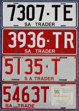 australische Kennzeichen SA