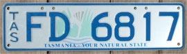 australisches Nummernschilde Tasmanien