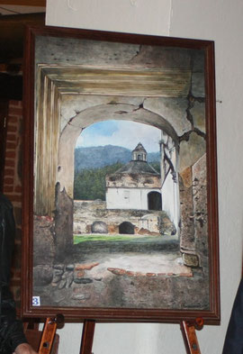 Obras de arte inspiradas en la Antigua Guatemala, Patrominio Cultural de la Humanidad.