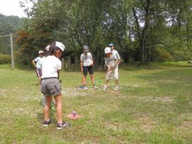 森林教室 スナッグゴルフ