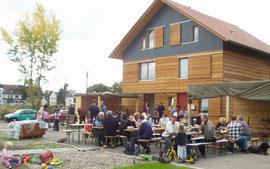 Einweihungsfest ökologisches Mehrgenerationenwohnen Am Schnepfenweg - München-Fasanerie  (Quelle: Kapfenberger)