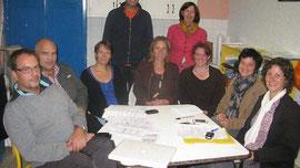 Le bureau de l'association des parents et amis de l'école Victor-Hugo réuni mardi dernier