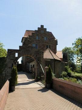 Eingang zum Schlosshotel