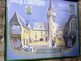 Burg Lindenfels im Mittelalter
