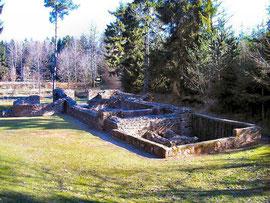 Am Limes: Reste einer römischen Badeanlage