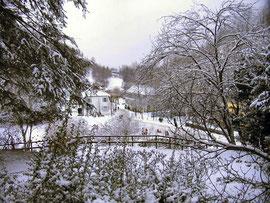 Fürstenlager im Winter