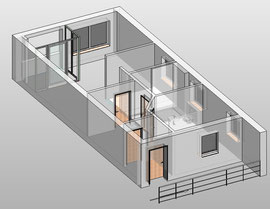 Revit - Transparenz in 3D