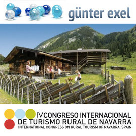 Referat Günter Exel beim Congreso de Turismo Rural in Pamplona, Navarra