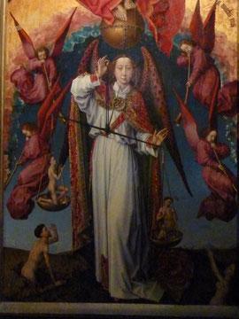 Beaune, Hotel de Dieu, Rogier van der Weyden, Jüngstes Gericht