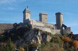 Le château de Foix/Ariège-Pyrénées