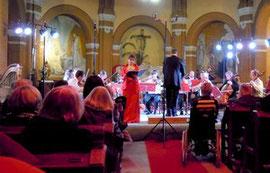 Caroline Géas et l'ensemble à cordes de l'Ariège