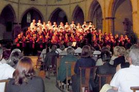 Concert à S.Volusien à Foix/Ariège en juillet 2011