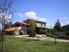 dans le parc regional naturel du haut languedoc,nous vous accueillons en maison d'hôtes  et gîte