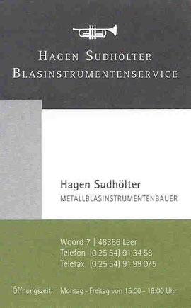 Instrumentenbauer Hagen Sudhölter