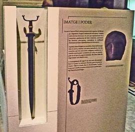 Espada de antenas Museo Arqueologico de Catalunya