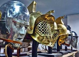Cascos de gladiador