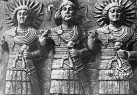 Relieve de dioses de Palmira