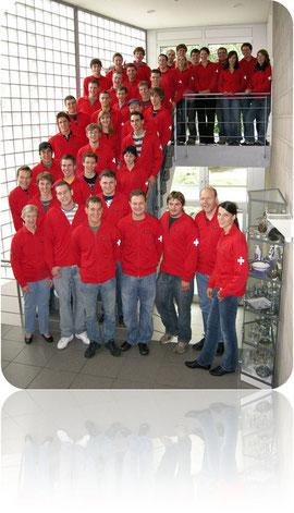 Schweizer WettkämpferInnen WorldSkills 2007 Shizuoka (Bild Swisscompetence)