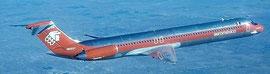 Sehr früher Kunde für die MD-80/Courtesy: AeroMexico