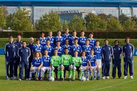 Die U15 des FC Schalke 04 (Bild:Karsten Rabas, www.schalke04.de)