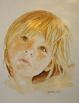 portrait d'un enfant de 4 ans