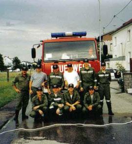 Hochwassereinsatz 2002 Ansfelden