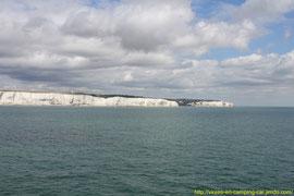 Terre anglaise en vue !