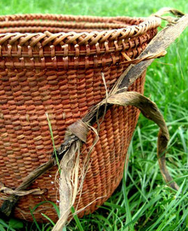 Yanomami Carrying Basket