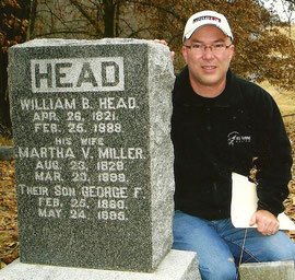 Douglas R. Head of Overland Park, KS, found ancestors in the Head Cemetery and the Spring Creek Cemetery in McDonough County.