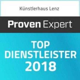 """Ausgezeichnet von Proven Expert als """"TOP Dienstleister 2018"""" - Restaurant Künstlerhaus Lenz"""