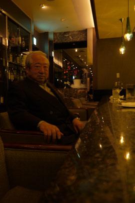 ※齊藤興平会長。生まれ育った浅草にて。