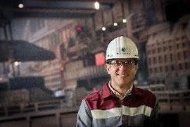 Erhält einen renommierten, internationalen Stahlpreis für Nachwuchstalente: Dr. Michael Skorianz. Foto: TKSE