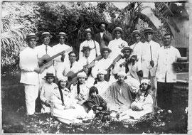Comparsa de Torreagüera, año 1928