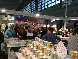 Auf der Creativa Dortmund, Europas größter Kreativmesse
